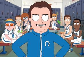 Hoops Netflix Jake Johnson animated series