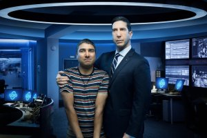 'Intelligence' Review: David Schwimmer Can't Quite Salvage a Senseless Peacock Comedy