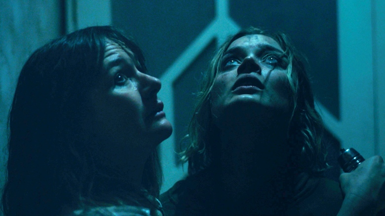 "Emily Mortimer and Bella Heathcoate in ""Relic"""