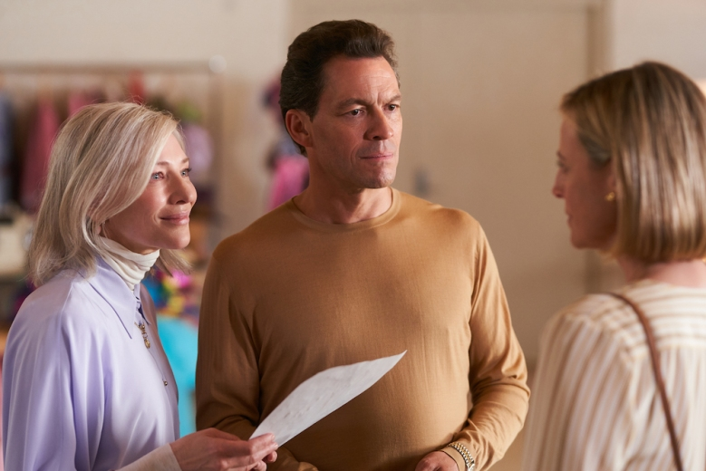 STATELESS (L to R) CATE BLANCHETT as PAT MASTERS, DOMINIC WEST as GORDON MASTERS, and MARTA DUSSELDORP as MARGOT in episode 103 of STATELESS Cr. BEN KING/NETFLIX © 2020