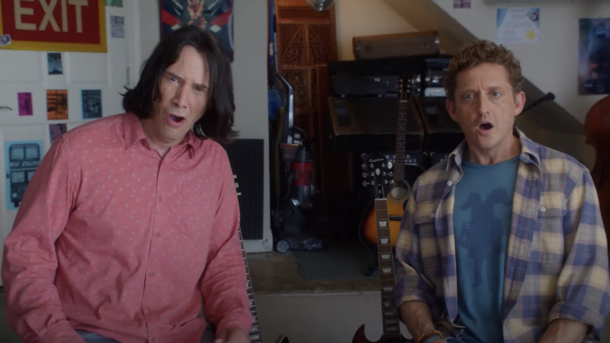 Bill & Ted Face the Music Official Trailer with Winter and Reeves | IndieWire
