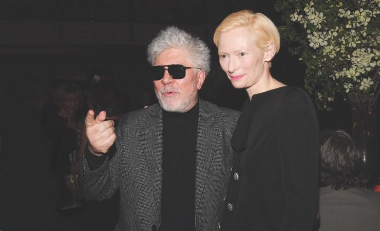 Pedro Almodovar, Tilda SwintonFilm Society of Lincoln Center's 50th Anniversary Gala, Inside, New York, USA - 29 Apr 2019