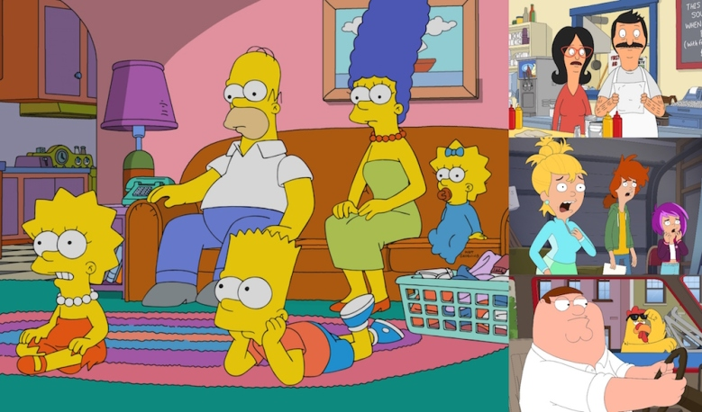 """""""The Simpsons,"""" """"Bob's Burgers,"""" """"Duncanville,"""" and """"Family Guy"""" Fox Animation Domination 2020"""