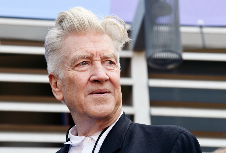 Filmmaker David Lynch is pictured during a 77th birthday celebration for Ringo Starr at Capitol Records on Friday, July 7, 2017, in Los Angeles. (Photo by Chris Pizzello/Invision/AP)