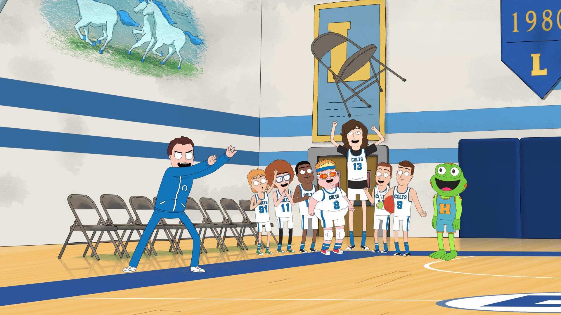 Hoops' First Look: Netflix Laces Up for Animated Basketball Comedy ...