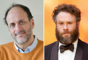 Luca Guadagnino and Seth Rogen