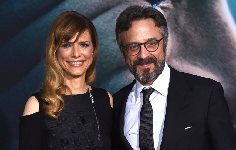Lynn Shelton and Marc Maron