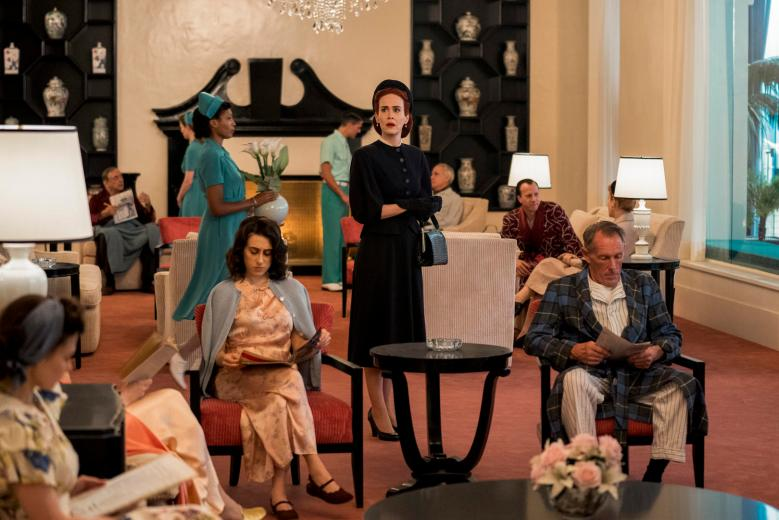 RATCHED (L to R) SARAH PAULSON as MILDRED RATCHED in episode 108 of RATCHED Cr. SAEED ADYANI/NETFLIX © 2020