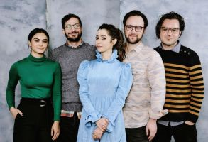 Guest, Andy Samberg, Cristin Milioti, Max Barbakow and Andy Siara - 'Palm Springs'Deadline Sundance Studio presented by Hyundai, Day 3, Park City, USA - 26 Jan 2020