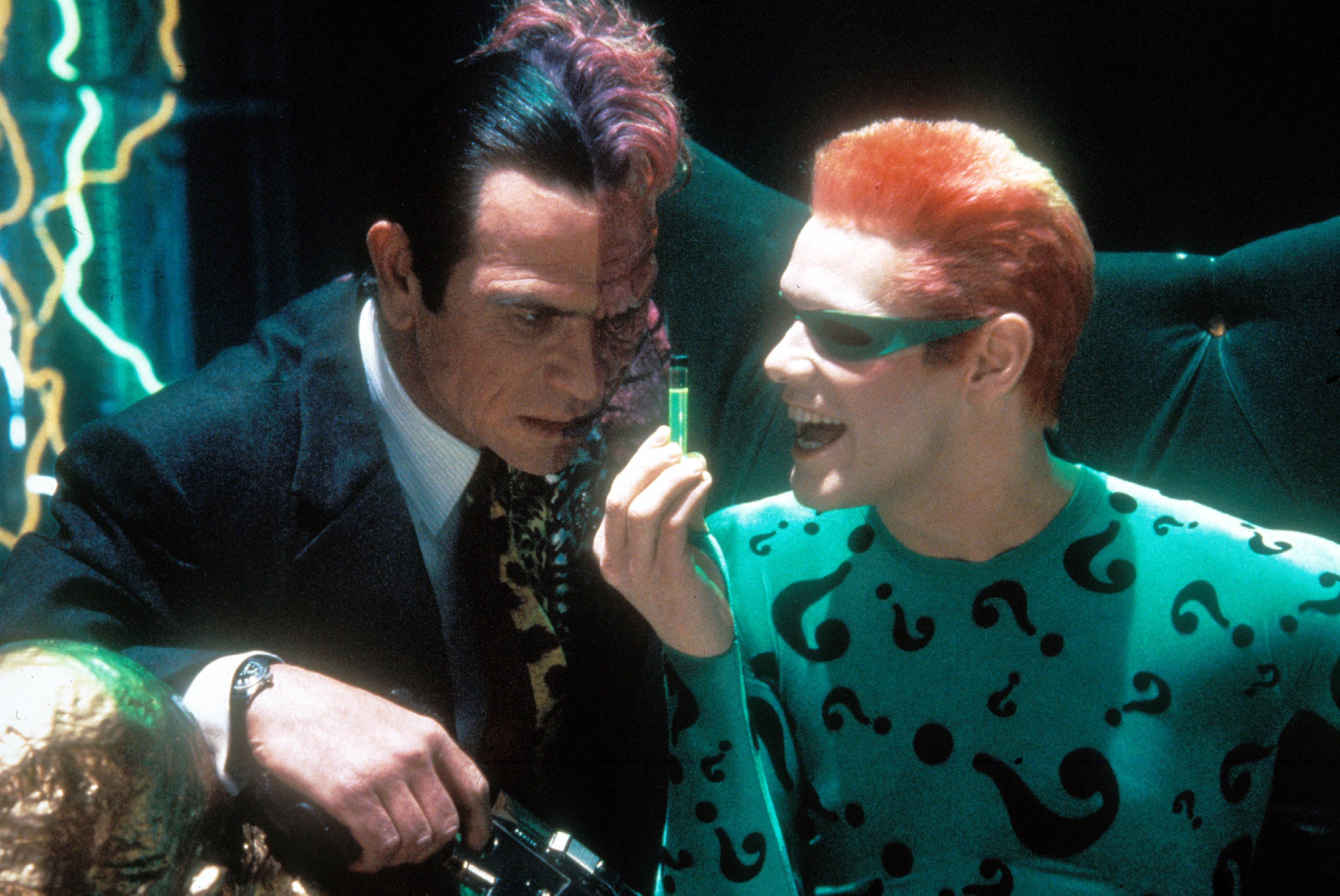 Batman Forever Extended Cut Exists With Human Sized Bat Fight Indiewire