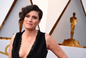Rachel Morrison arrives at the Oscars on Sunday, March 4, 2018, at the Dolby Theatre in Los Angeles. (Photo by Jordan Strauss/Invision/AP)