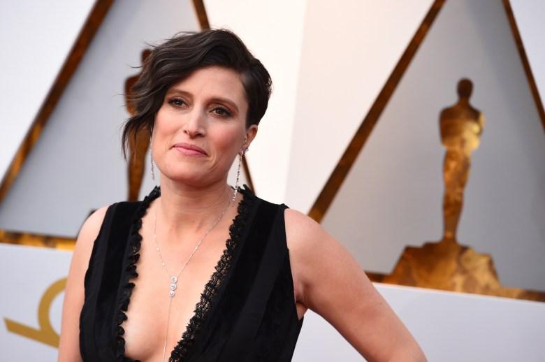 Rachel Morrison arrives at the Oscars