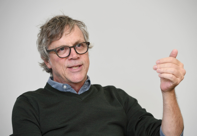 Todd Haynes, an American film director, speaks during an interview in Tokyo on March 19, 2018.( The Yomiuri Shimbun via AP Images )