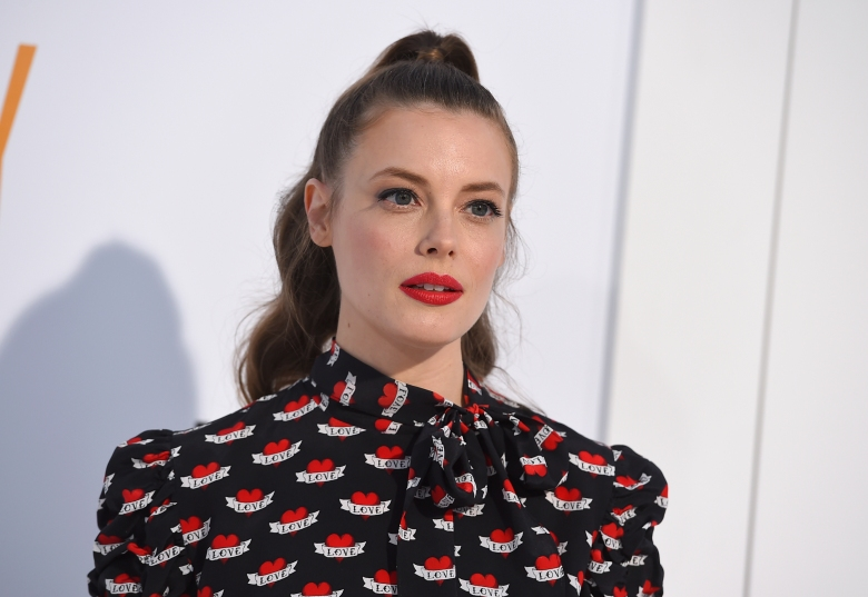 "Gillian Jacobs arrives at the world premiere of ""I Feel Pretty"" at the Westwood Village Theater on Tuesday, April 17, 2018, in Los Angeles (Photo by Jordan Strauss/Invision/AP)"