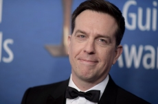 Ed Helms attends the 2019 Writers Guild Awards at the Beverly Hilton Hotel on Sunday, Feb.17, 2019, in Beverly Hills, Calif. (Photo by Richard Shotwell/Invision/AP)