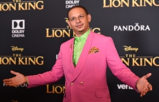 "Eric Andre arrives at the world premiere of ""The Lion King"" on Tuesday, July 9, 2019, at the Dolby Theatre in Los Angeles. (Photo by Jordan Strauss/Invision/AP)"