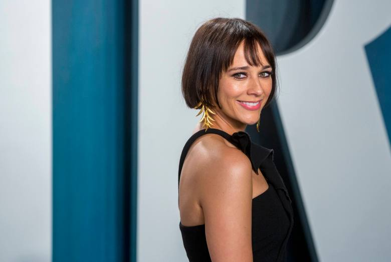 Rashida Jones attends the Vanity Fair Oscar Party at Wallis Annenberg Center for the Performing Arts in Beverly Hills, Los Angeles, USA, on 09 February 2020. | usage worldwide Photo by: Hubert Boesl/picture-alliance/dpa/AP Images