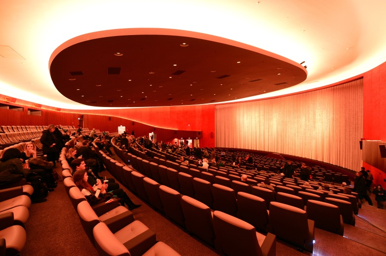 Interior view of the main hall of the Zoo Palast theatre in Berlin, Germany, 25 January 2014. After extensive renovation works and furnishing with the latest cinema technology, the Zoo Palast has become a venue of this year's Berlin International Film Festival again. Three galas of the Berlinale Specials are planned to be held at the traditional movie theater. Photo by: Jens Kalaene/picture-alliance/dpa/AP Images