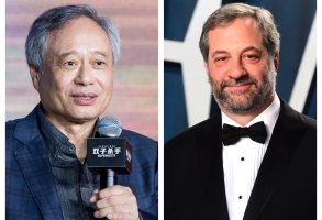 Ang Lee and Judd Apatow
