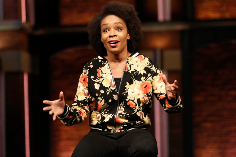 "Amber Ruffin on ""Late Night With Seth Meyers"""