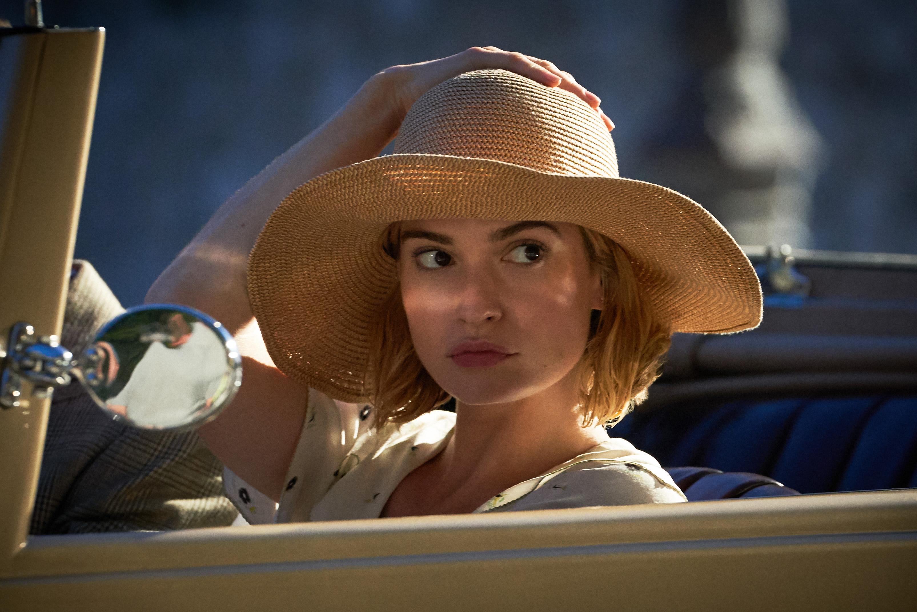 Rebecca: Lily James as Mrs. de Winter, Cr. KERRY BROWN/NETFLIX