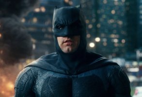 "Ben Affleck as Batman in ""Justice League"""