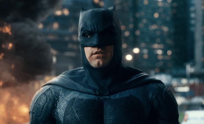 "Ben Affleck as Batman in ""Justice League"""