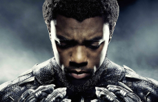 "Chadwicke Boseman in ""Black Panther"""