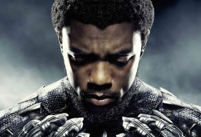 "Chadwicke Boseman in ""Black Panther"""