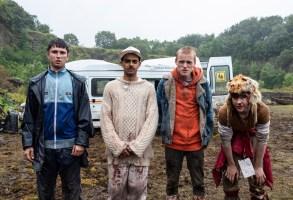 Samuel Bottomley, Viraj Juneja, Lewis Gribben, and Rian Gordon star in GET DUKED!