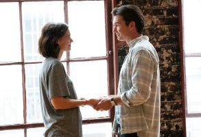 "Katie Holmes and Jerry O' Connell in ""The Secret: Dare To Dream"""