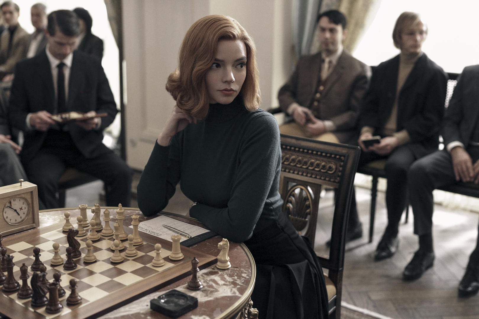 The Queen's Gambit' Trailer: Anya Taylor-Joy's Netflix Series   IndieWire