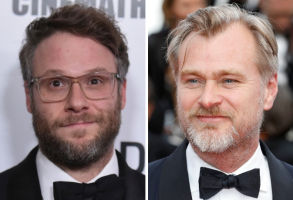 Seth Rogen and Christopher Nolan