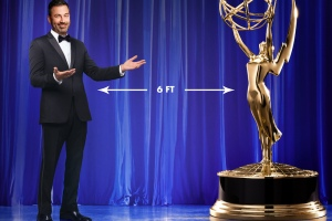 Jimmy Kimmel's Surreal Emmys Opening Monologue Has Serious 2020 Vibes