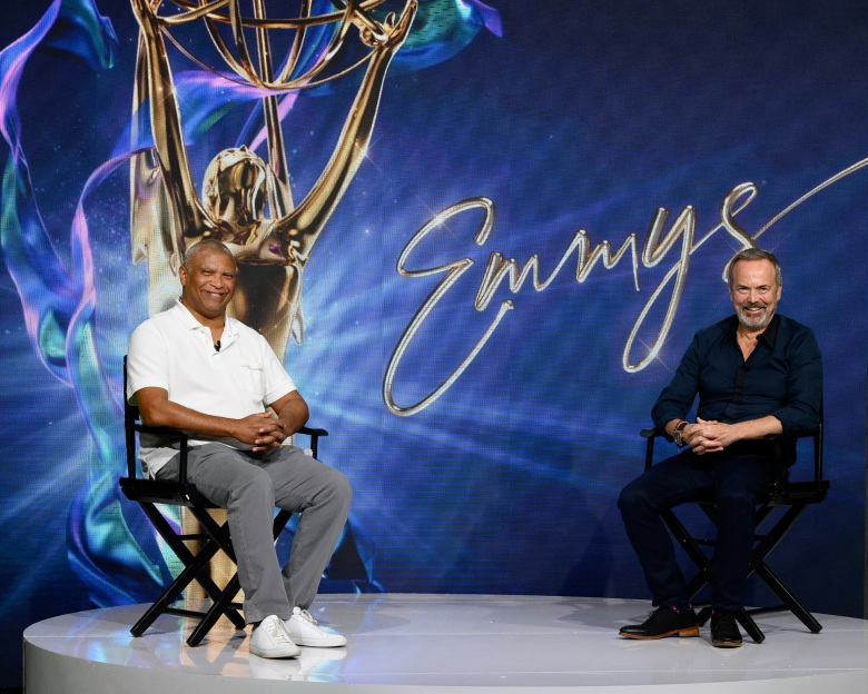 THE 72ND EMMY(r) AWARDS - Executive producers Reginald Hudlin & Ian Stewart gave an Emmy Awards Sneak Peek Q&A on Wednesday, September 16 at 10:30 a.m. PT. (ABC/Todd Wawrychuk)REGINALD HUDLIN, IAN STEWART