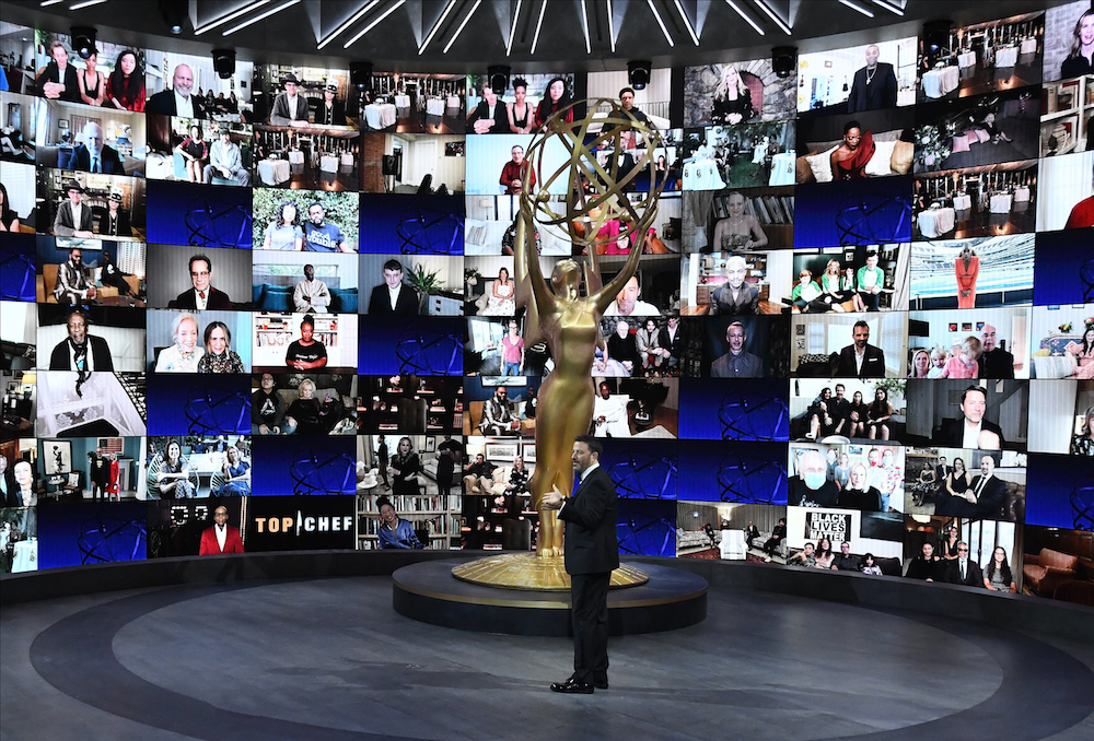 "THE 72ND EMMY® AWARDS - Hosted by Jimmy Kimmel, the ""72nd Emmy® Awards"" will broadcast SUNDAY, SEPT. 20 (8:00 p.m. EDT/6:00 p.m. MDT/5:00 p.m. PDT), on ABC. (ABC)JIMMY KIMMEL"