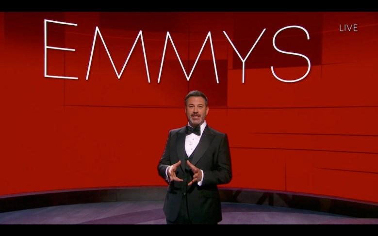 """2020 Emmys THE 72ND EMMY® AWARDS - Hosted by Jimmy Kimmel, the """"72nd Emmy® Awards"""" will broadcast SUNDAY, SEPT. 20 (8:00 p.m. EDT/6:00 p.m. MDT/5:00 p.m. PDT), on ABC. (ABC/ABC)JIMMY KIMMEL"""