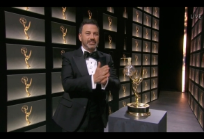 "THE 72ND EMMY® AWARDS - Hosted by Jimmy Kimmel, the ""72nd Emmy® Awards"" will broadcast SUNDAY, SEPT. 20 (8:00 p.m. EDT/6:00 p.m. MDT/5:00 p.m. PDT), on ABC. (ABC/ABC)JIMMY KIMMEL"