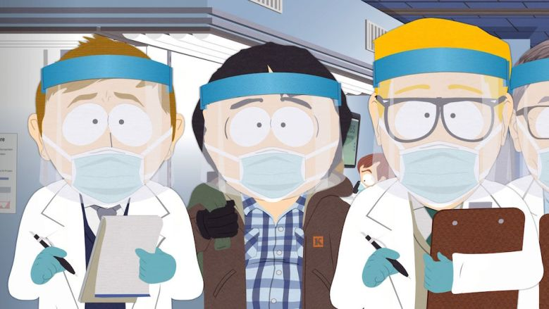 """""""South Park: The Pandemic Special"""" Comedy Central"""