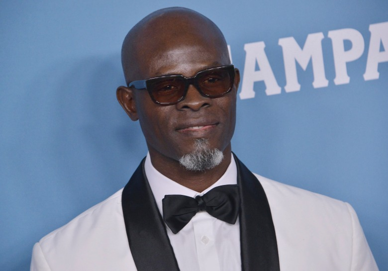 Djimon Hounsou arrives at the 22nd Costume Designers Guild Awards held at the Beverly Hilton in Beverly Hills, CA on Tuesday, ​January 28, 2020. (Photo By Sthanlee B. Mirador/Sipa USA)(Sipa via AP Images)
