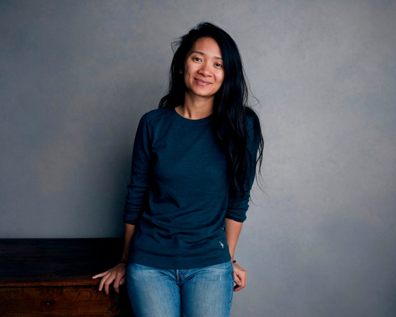 "FILE - Writer-director Chloe Zhao poses for a portrait during the Sundance Film Festival in Park City, Utah on Jan. 22, 2018. Zhao's ""Nomadland,"" starring by Frances McDormand will be featured at the 77th edition of the Venice festival. Films directed by women make up 44% of the competition slate. (Photo by Taylor Jewell/Invision/AP, File)"
