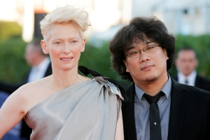 Tilda Swinton Pens Tribute to Bong Joon Ho, One of TIME's 100 Most Influential People of 2020