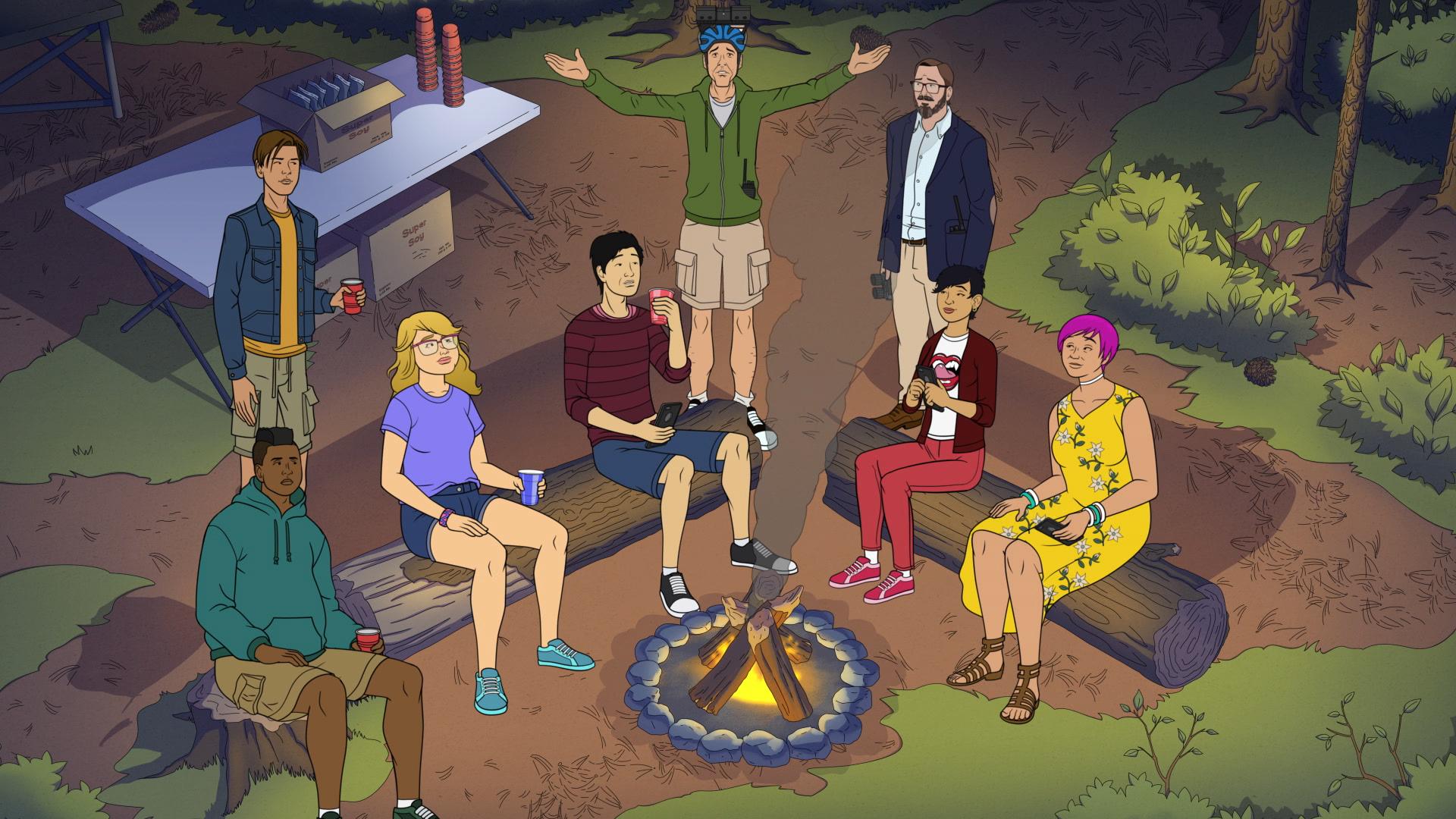 "CAKE -- Episode 3 (Airs Thursday, July 16, 10:00 PM ET/PT on FXX) -- ""Dicktown"" -- John Hodgeman & David Rees. CR: FXX"