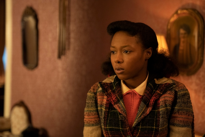 "FARGO -- ""Welcome to the Alternate Economy"" - Year 4, Episode 1  (Airs September 27)  Pictured: E'myri Crutchfield as Ethelrida Pearl Smutny.  CR: Elizabeth Morris/FX"