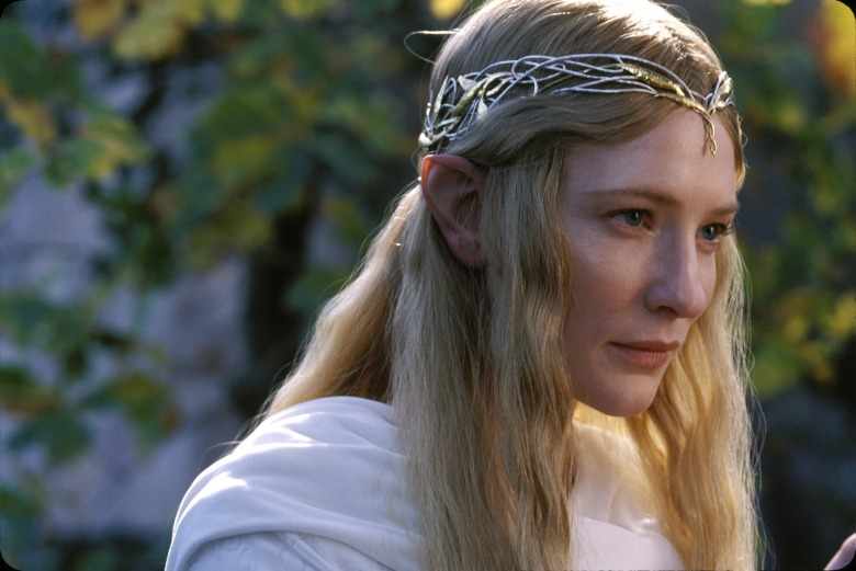 THE LORD OF THE RINGS: FELLOWSHIP OF THE RING, Cate Blanchett, 2001