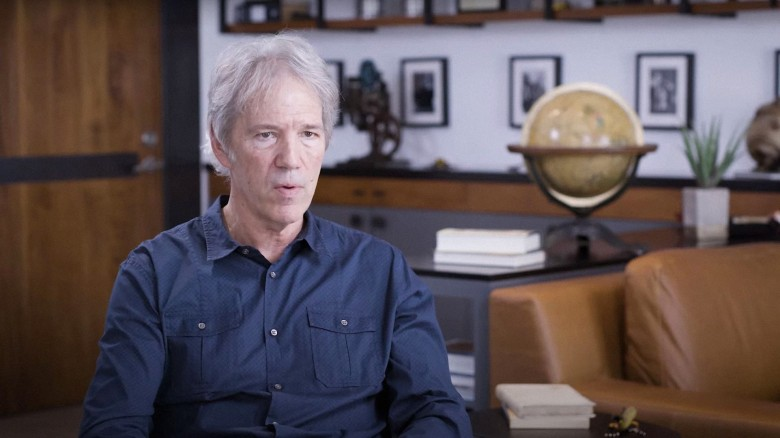 ROBINS WISH, David E. Kelley, creator and producer of THE CRAZY ONES, a television show Robin starred in from 2013 to 2014, 2020. © Vertical Entertainment / Courtesy Everett Collection
