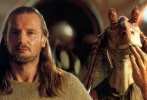 STAR WARS: EPISODE I - THE PHANTOM MENACE, Liam Neeson, Jar Jar Binks, 1999