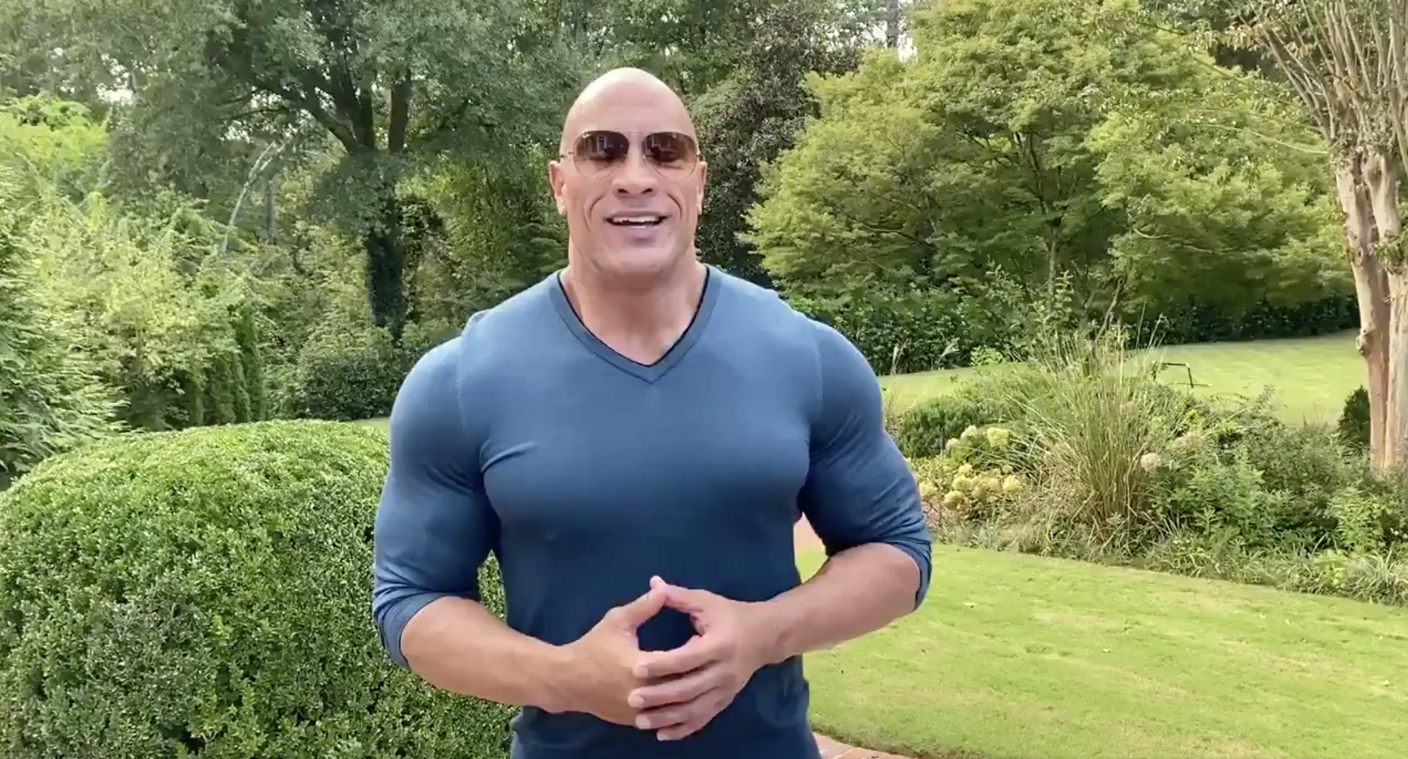 Dwayne 'The Rock' Johnson Supports Joe Biden and Kamala Harris in His First-Ever Endorsement