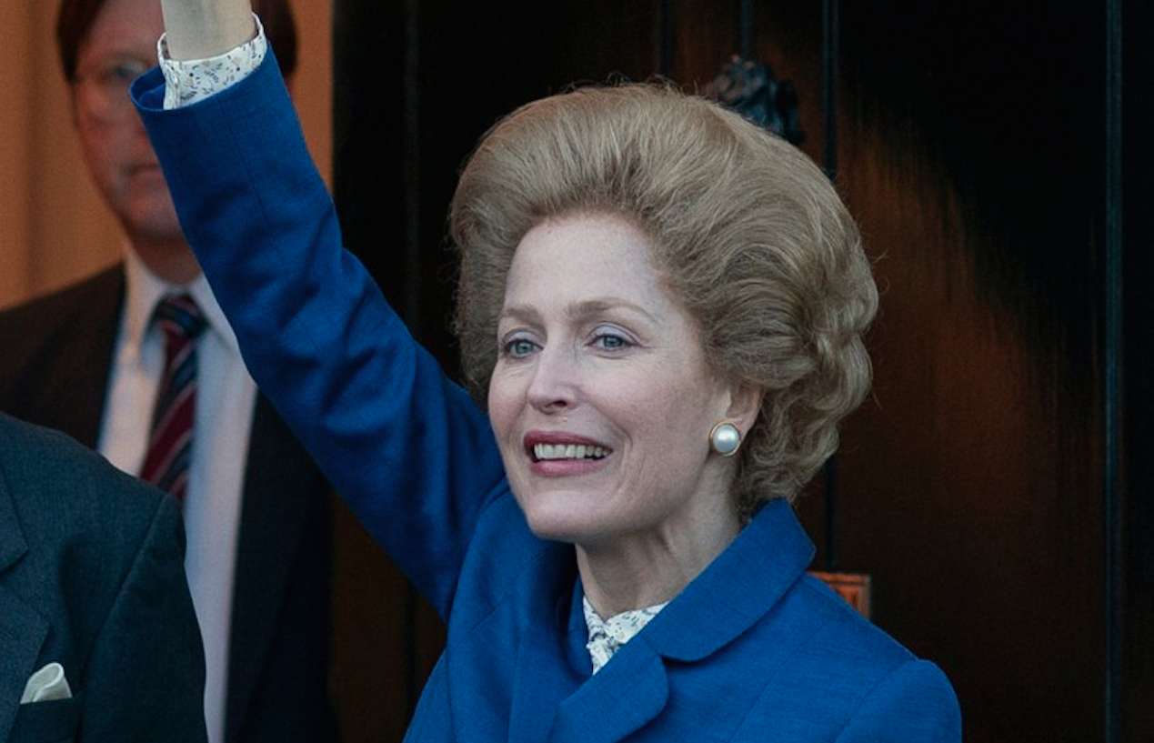 The Crown': Gillian Anderson on Playing Margaret Thatcher — Video | IndieWire
