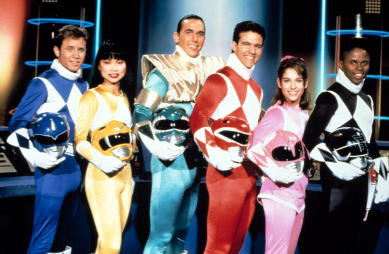 MIGHTY MORPHIN' POWER RANGERS, David Yost, Thuy Trang, Jason David Frank, Austin St. John, Amy Jo Johnson, Walter Jones, 1993-96